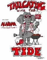 Tailgatin with the Tide! Cute! #UltimateTailgate #Fanatics