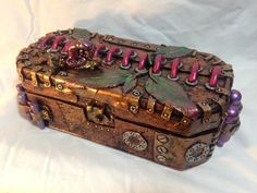 11 Steampunk Snail jewelry box by SteamPunkArtEmporium on Etsy