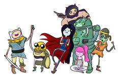 I'm kind of a sucker for Adventure Time mash-ups... as well as for Chrono Trigger.