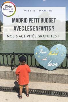 Vous visitez Madrid avec des enfants? Alors cet article devrait vous plaire ! On partage 6 activités gratuites à faire avec les enfants à Madrid. #espagne #bonplan