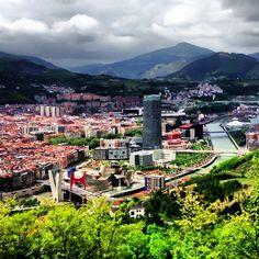 Mirador de Artxanda en Bilbao, País Vasco - http://sixt.info/Pinterest-Bilbao