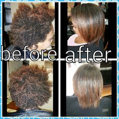 Keratin treatment done by myself Rebecca Gonzalez @ Simply Chic Beauty Salon in Lowell, Ma