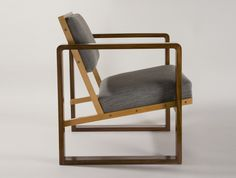Club Chair from Oeser's home by Josef Albers, 1928