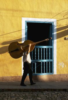Cuban Bass Player
