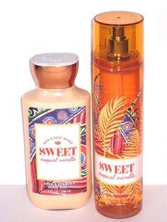 Bath & Body Works Sweet Tropical Vanilla 8 FL Oz for sale online Bath Body Works, Bath And Body Works Perfume, Bath N Body, Perfume Body Spray, Fragrance Lotion, Fragrance Mist, Bath And Bodyworks, Body Mist, Smell Good
