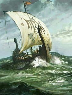 Viking Ship, by Karl Simon.