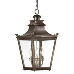 "Dorchester Collection 21"" High Outdoor Hanging Light - #68011 