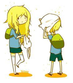 Adventure Time - Fionna & Finn
