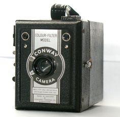 Vintage Conway Camera  ColorFilter Model Made in by CanemahStudios, $40.00