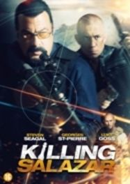 KILLING SALAZAR CAST: STEVEN SEAGAL, GEORGES ST-PIERRE, LUKE GOSS MOVIE, DVDNL