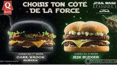 Darth Vader & Jedi Burgers