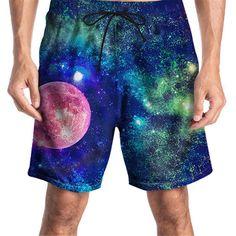 Surf Shorts, Swimwear Fashion, Summer Shorts, Men's Bottoms, Printed Shorts, Shirt Blouses, Surfing, Fashion Outfits, Beach