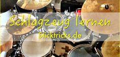 Schlagzeug lernen – Einfache Übungen für den Einstieg als Drummer