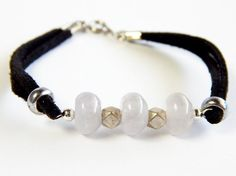 Three's Company Bracelet by CreativeToTheHeart on Etsy