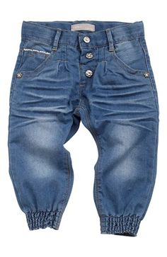 De lækreste Name it Jeans Sky mini Baggy fit Medium denim Name it Bukser til Børn & teenager til hverdag og fest