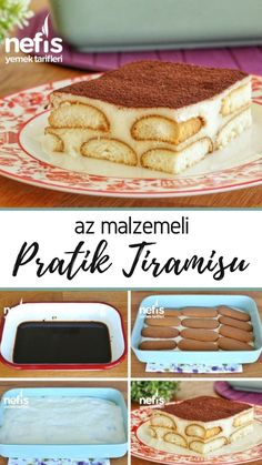 Little Ingredient Liar Tiramisu (with video) - Delicious Recipes - Cheesecake Recipes Homemade Cheesecake, Cheesecake Recipes, Homemade Tiramisu, Cooking Ingredients, Few Ingredients, Easy Eat, Quick Easy Meals, Delicious Recipes, Yummy Food