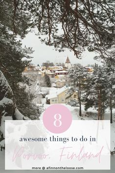 What are the best things to do and places to be in Porvoo, an adorable old wooden town less than an hour from Helsinki? Travel Activities, Activities To Do, Stuff To Do, Things To Do, Good Things, Online Travel, Day Trips, Finland, Places To Go