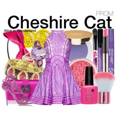 Inspired by Disney's Cheshire Cat from the 1951 animated film Alice in Wonderland.
