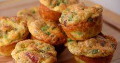 Os muffins de bacon e queijo que pode comer sem culpa — são baixos em calorias