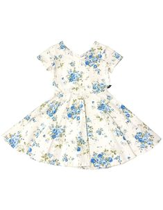 2Y-5Y Heritage Floral Dress for Girls OshKosh BGosh Blue