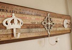 Come utilizzare vecchi metri di legno e gangi spaiati