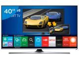 "Smart TV LED 40"" Samsung Full HD Gamer UN40J5500 - Conversor Digital Wi-Fi 3…"