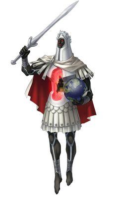 Caesar Persona - Characters & Art - Persona 4 Arena