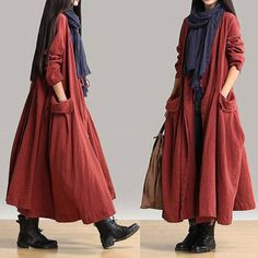 Modlily Page Liked · November 9 · ^_^ Pocket Design Long Sleeve Maxi #Dress Yes or No ? 55% Off >>>https://goo.gl/bKgEYI More Styles >>>https://goo.gl/oq2aqP #Freeshipping