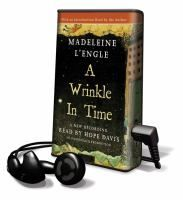 A Wrinkle in Time by Madeleine L'Engle Meg Murry, her brother Charles, and their friend Calvin, embark on a journey through space and time, assisted by three other worldly women, when they set out to find Meg's father, a physicist who disappeared while experimenting with time travel.