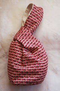 fabulous tutorial for a Japanese Knot bag,
