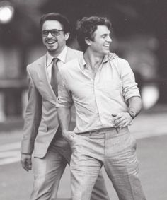 RDJ and Mark Ruffalo
