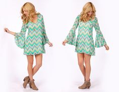 2tee Couture Summer 2013 Lookbook  Bohemian Flare Sleeved Dress