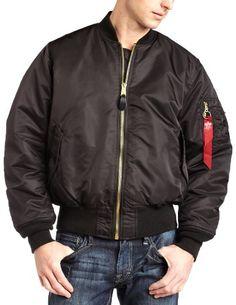 Alpha Industries Men's Ma-1 Flight Jacket,Black,Medium. From #Alpha Industries. List Price: $110.00. Price: $95.00