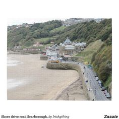 Shore drive road Scarborough. Jigsaw Puzzle