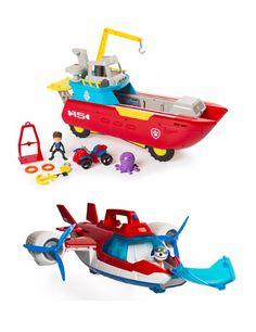 Paw Patrol Sea Patroller and Air Patroller #shopko