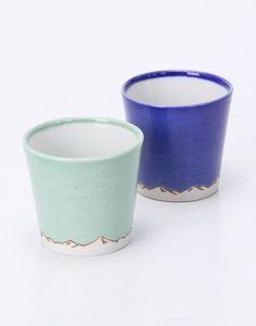 お猪口2個セット   AMETSUCHI Sake Cups
