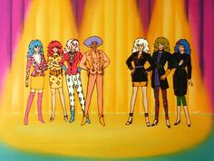 Jem and the Holograms and The Misfits Hologram Pictures, 80 Tv Shows, Jem And The Holograms, Misfits, Disney Cartoons, Looney Tunes, Kitsch, Roxy