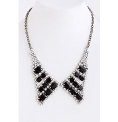 Jewel Collar Necklace for a festive look for evening! http://www.krisandkate.com/index.php/holiday-gift-guide/view-all.html