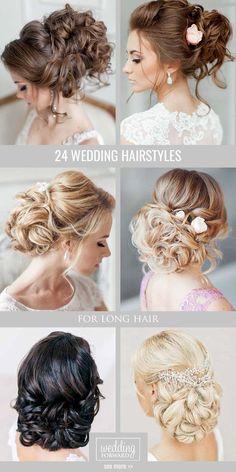 Wedding Hairstyles Half Up Half Down   : 24 Brides Favourite Wedding Hairstyles For Long Hair  From soft layers to ha