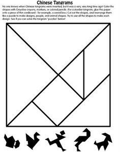 40 Best Tangram Images Activități Matematice Inapoi La școală Preșcolari