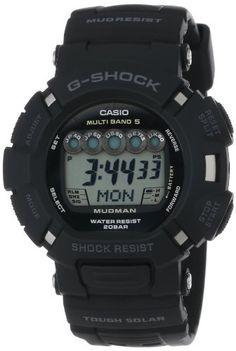 Black Friday 2013 Casio Men's G-Shock Mudman Solar Atomic Watch Deals G Shock Watches, Sport Watches, Watches For Men, Casio G-shock, Casio Watch, G Shock Mudman, G Shock Limited, G Shock Frogman, Black Friday 2013