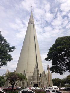Catedral Maringá, Paraná, Brasil