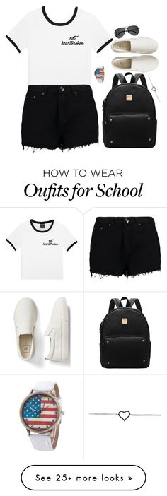"""""""Go to school Lady's"""" by justonegirl-423 on Polyvore featuring Boohoo, Gap and Yves Saint Laurent"""