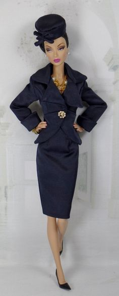 Club Navy for Silkstone Barbie and Victoire by MatisseFashions