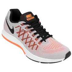 huge selection of bd44a e250b Zapatillas Nike Air Zoom Pegasus 32 Gris e Violeta   Netshoes Articulos  Deportivos, Zapatillas,