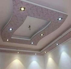 Simple False Ceiling Design, Gypsum Ceiling Design, Interior Ceiling Design, House Ceiling Design, Ceiling Design Living Room, House Arch Design, Room Door Design, Wall Decor Design, Roof Design
