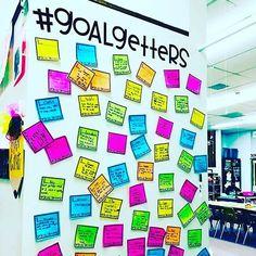 #goalgetters bulletin board for September!