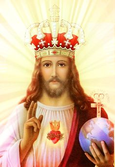 At My Second Coming, I will judge every person who remains alive on the Earth at that time according to what they have done for the Glo. Christ The King, King Jesus, Jesus Is Lord, Religious Images, Religious Art, Pictures Of Jesus Christ, Jesus Wallpaper, Jesus Painting, Jesus Is Coming