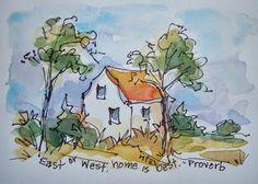 Sketchbook Wandering: Maine