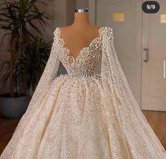 Fancy Wedding Dresses, Glam Dresses, Stunning Wedding Dresses, Wedding Dress Trends, Elegant Dresses, Pretty Dresses, Bridal Dresses, Beautiful Dresses, Formal Dresses